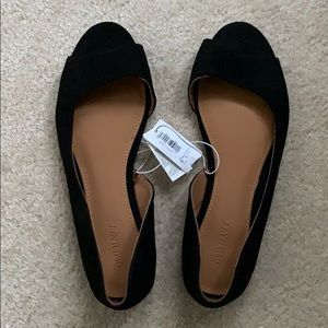Women's Peep Toe Flats